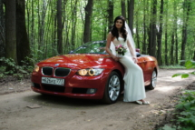 Кабриолет на свадьбу в Москве