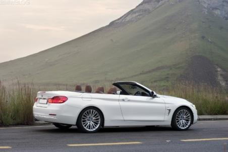 Аренда кабриолета BMW 4 F33